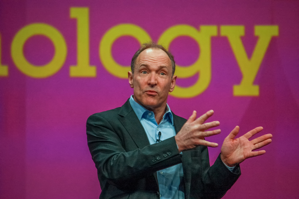 Tim Berners-Lee, the inventor of the first web browser