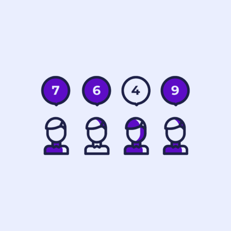 Graphics of Net Promoter Score Software