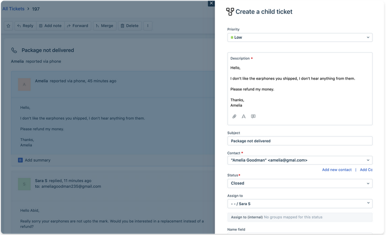 Screenshot Of Freshdesk