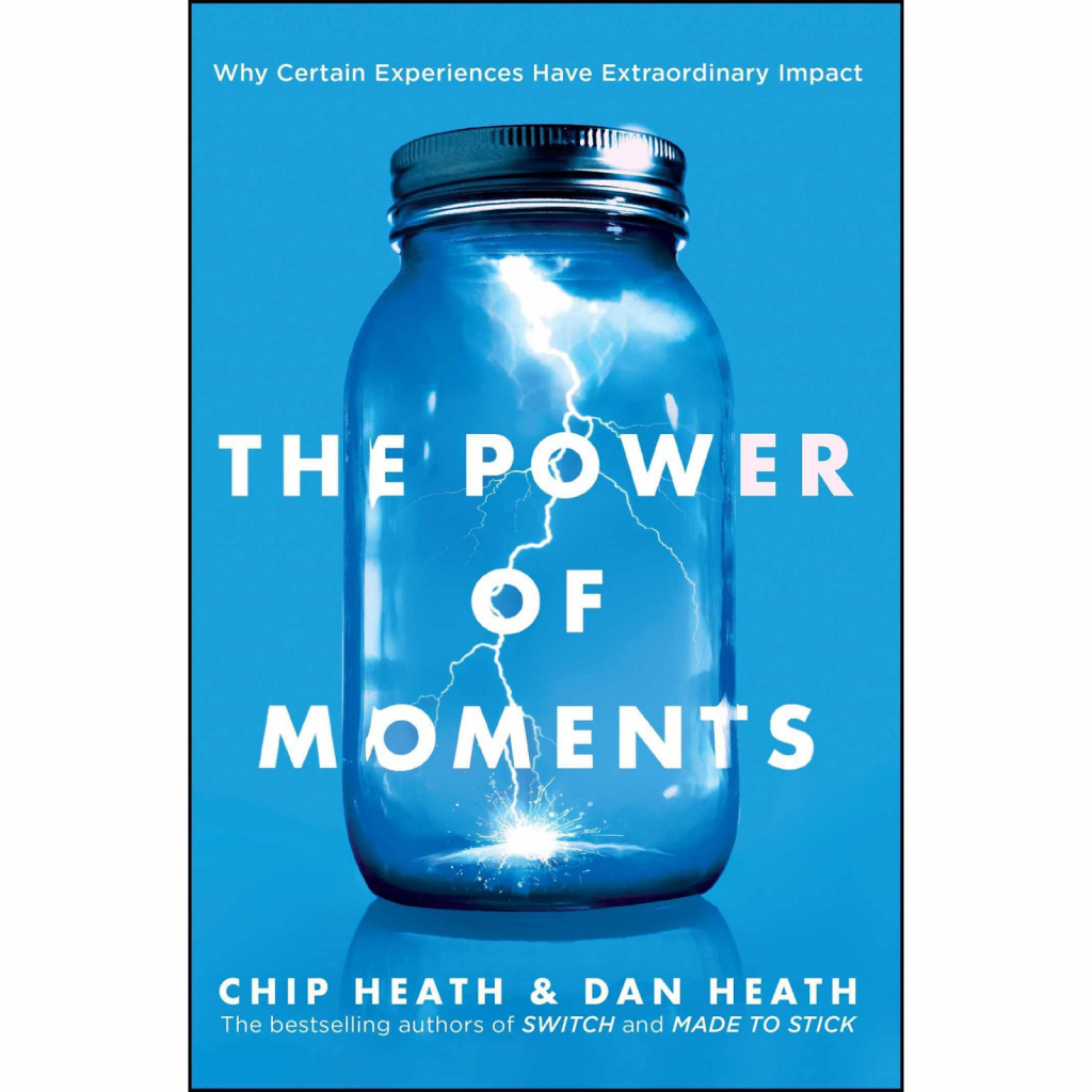 Photo Of The Power of Moments Book Cover