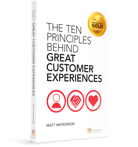 Photo Of The Ten Principles Behind Great Customer Experiences Book Cover